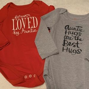 Auntie Bundled Onesies
